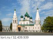 Купить «Ярославль. Церковь Илии Пророка», фото № 32439939, снято 13 мая 2019 г. (c) Юлия Бабкина / Фотобанк Лори