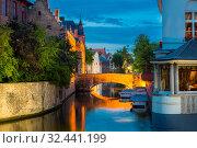 Belgium, Brugge, ancient European town (2019 год). Стоковое фото, фотограф Tryapitsyn Sergiy / Фотобанк Лори