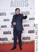 Carlos Bardem attends 'Adios' premiere at Capitol Cinema on November 19, 2019 in Madrid, Spain. Редакционное фото, фотограф Manuel Cedron / age Fotostock / Фотобанк Лори