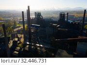 Купить «Abandoned Vitkovice steel mill in Ostrava», фото № 32446731, снято 17 октября 2019 г. (c) Яков Филимонов / Фотобанк Лори