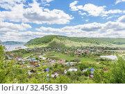 Купить «Shiryaevo village in the Samara region, Russia», фото № 32456319, снято 19 мая 2019 г. (c) Дмитрий Тищенко / Фотобанк Лори