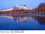 Купить «Коломна, Бобреневский монастырь поздней осенью», фото № 32508287, снято 23 ноября 2019 г. (c) Natalya Sidorova / Фотобанк Лори