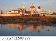 Купить «Коломна, Бобреневский монастырь поздней осенью», фото № 32508299, снято 23 ноября 2019 г. (c) Natalya Sidorova / Фотобанк Лори