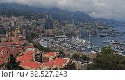 Купить «Monaco port with Yahts TIMELAPSE, Monte Carlo city in sunny day», видеоролик № 32527243, снято 28 августа 2019 г. (c) Aleksejs Bergmanis / Фотобанк Лори
