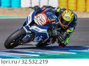 Купить «WSBK Winter test Spanish, Jerez 29th November 2019», фото № 32532219, снято 29 ноября 2019 г. (c) age Fotostock / Фотобанк Лори