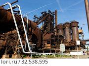 Купить «Closed metallurgical factory in Ostrava, Czech Republic», фото № 32538595, снято 5 декабря 2019 г. (c) Яков Филимонов / Фотобанк Лори