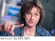 Купить «Italian singer Gianna Nannini during the tv show Domenica in, Rome, ITALY-01-12-2019.», фото № 32541363, снято 1 декабря 2019 г. (c) age Fotostock / Фотобанк Лори