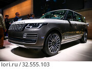 Купить «Range Rover», фото № 32555103, снято 17 сентября 2019 г. (c) Art Konovalov / Фотобанк Лори