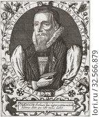 Купить «Arthur Lake, 1569-1626. Bishop of Bath and Wells and a translator of the King James Version of The Bible.», фото № 32566879, снято 7 июля 2019 г. (c) age Fotostock / Фотобанк Лори
