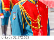 Купить «Form of honor guard in the Russian army.», фото № 32572635, снято 7 мая 2017 г. (c) Акиньшин Владимир / Фотобанк Лори