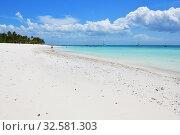 Купить «Kendwa beach, Zanzibar, Tanzania, Africa», фото № 32581303, снято 3 октября 2019 г. (c) Знаменский Олег / Фотобанк Лори