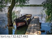 Купить «Village Vilkovo in Odessa region, Ukraine», фото № 32627443, снято 23 июня 2019 г. (c) Sergii Zarev / Фотобанк Лори