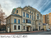 Modern elite residential complex Bolshaya Nikitskaya (2019 год). Редакционное фото, фотограф Алексей Голованов / Фотобанк Лори