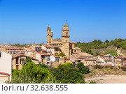 Купить «Лагуардия, Испания. Живописный вид виноградников в горной долине», фото № 32638555, снято 23 июня 2017 г. (c) Rokhin Valery / Фотобанк Лори