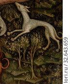 German: Healing of Lazarus, Westphalian Master, German, c. 1400, Oil and gold on wood panel, Overall: 17 1/8 x 14 7/8 in. (43.5 x 37.8 cm) Редакционное фото, фотограф ARTOKOLORO QUINT LOX LIMITED / age Fotostock / Фотобанк Лори
