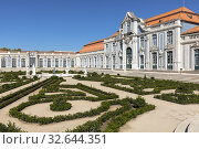 Palace of Queluz, Sintra, Lisbon, Portugal, Europe. Стоковое фото, фотограф Joana Kruse / age Fotostock / Фотобанк Лори