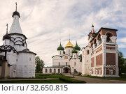 Купить «Saviour Monastery of St. Euthymius, Suzdal», фото № 32650815, снято 15 мая 2018 г. (c) Юлия Бабкина / Фотобанк Лори