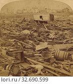 Купить «The Johnstown Calamity - General View of the Wrecked City, U.S.A., George Barker (American, 1844 - 1894), 1889, Albumen silver print», фото № 32690599, снято 17 июня 2019 г. (c) age Fotostock / Фотобанк Лори
