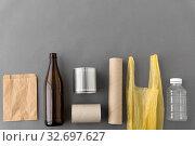 Купить «different kind of household waste», фото № 32697627, снято 3 мая 2019 г. (c) Syda Productions / Фотобанк Лори
