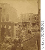 Купить «View of destruction, probably fire, at Providence, Rhode Island, Manchester Brothers, 1860s, Albumen silver print», фото № 32699035, снято 17 июня 2019 г. (c) age Fotostock / Фотобанк Лори