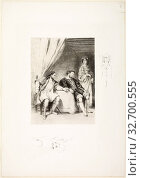 Weislingen Held Prisoner by Goetz, 1821, Eugène Delacroix, French, 1798-1863, France, Lithograph in black on off-white China paper laid down on white wove... Редакционное фото, фотограф ARTOKOLORO QUINT LOX LIMITED / age Fotostock / Фотобанк Лори