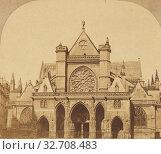 Купить «St. Germain l'Auxerrois, Paris, Unknown maker, French, about 1860, Albumen silver print», фото № 32708483, снято 17 июня 2019 г. (c) age Fotostock / Фотобанк Лори