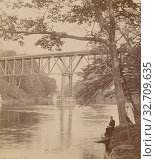 Grand River, Mich., Unknown maker, American, about 1900, Gelatin silver print (2019 год). Редакционное фото, фотограф ARTOKOLORO QUINT LOX LIMITED / age Fotostock / Фотобанк Лори