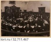 Inaugural meeting city council, Toronto, Jan. 9, 1911. Редакционное фото, фотограф ARTOKOLORO QUINT LOX LIMITED / age Fotostock / Фотобанк Лори
