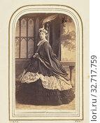 Купить «The Duchess of Manchester, Camille Silvy (French, 1834 - 1910), France, about 1860–1861, Albumen silver print, 11.4 × 6.4 cm (4 1/2 × 2 1/2 in.)», фото № 32717759, снято 17 июня 2019 г. (c) age Fotostock / Фотобанк Лори