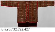 Купить «Jacket Kelambi burong, Jacket with long sleeves., anonymous, Sarawak, 1900 - 1949, cotton (textile), tapestry, h 68 cm × w 140 cm», фото № 32722427, снято 7 августа 2020 г. (c) age Fotostock / Фотобанк Лори