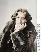 Купить «Oscar Wilde, 1854 - 1900. Irish poet and playwright. After a photogaph made in the early 1880's by American photographer Napoleon Sarony.», фото № 32726163, снято 1 октября 2019 г. (c) age Fotostock / Фотобанк Лори