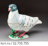 Pigeon Tureen, c. 1755, Strasbourg Pottery Manufactory (French, 1721-1781), Design attributed to Johann Wilhelm Lanz (German, mid-18th century), Strasbourg... Редакционное фото, фотограф ARTOKOLORO QUINT LOX LIMITED / age Fotostock / Фотобанк Лори