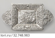Купить «Diaper basket with a representation of music-making putti, The rectangular basket with sloping walls rests on a foot edge and is on the bottom reinforced...», фото № 32748983, снято 6 августа 2020 г. (c) age Fotostock / Фотобанк Лори