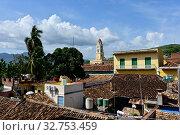 Купить «Cuba, Trinidad - View from the city museum», фото № 32753459, снято 27 июля 2019 г. (c) Caro Photoagency / Фотобанк Лори