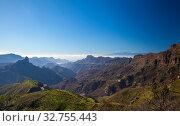 Пейзаж острова Гран-Канария (2019 год). Стоковое фото, фотограф Tamara Kulikova / Фотобанк Лори