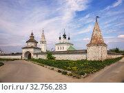 Купить «Александровский монастырь, Суздаль», фото № 32756283, снято 16 мая 2018 г. (c) Юлия Бабкина / Фотобанк Лори