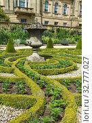 Beautiful geometrical design Formal garden. Стоковое фото, фотограф Zoonar.com/christopher smith / easy Fotostock / Фотобанк Лори