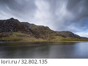 A lake in snowdonia national park. Стоковое фото, фотограф Zoonar.com/christopher smith / easy Fotostock / Фотобанк Лори