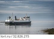 Baldur ferry boat, Breidafjordur, Westfjords, Iceland. Стоковое фото, фотограф Ragnar Th. Sigurdsson / age Fotostock / Фотобанк Лори