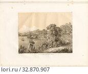 The Port of Bougia, Béjaïa, signed: A. Otth des. Et lith, impr, chez J.F. Wagner à Berne, Pl. XXVII, Otth, Adolf (des. et lith.), Wagner, J. F. (impr.... Редакционное фото, фотограф ARTOKOLORO QUINT LOX LIMITED / age Fotostock / Фотобанк Лори