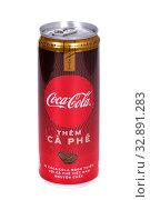 Coca-Cola Them Ca Phe (2020 год). Редакционное фото, фотограф Art Konovalov / Фотобанк Лори