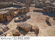 Купить «The remains of the villa. Paphos Archaeological Park. Cyprus», фото № 32892699, снято 8 июня 2018 г. (c) Serg Zastavkin / Фотобанк Лори