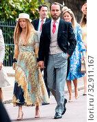 The wedding of Lady Gabriella Windsor and Thomas Kingston at St. ... (2019 год). Редакционное фото, фотограф John Rainford / WENN / age Fotostock / Фотобанк Лори