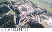 Купить «Panoramic landscape of fortress of Nossa Senhora da Graca in Elvas, Portugal», видеоролик № 32914131, снято 22 апреля 2019 г. (c) Яков Филимонов / Фотобанк Лори