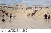 Купить «Doha, Qatar - Nov 20. 2019. Katara Amphitheatre in the Katara Village», видеоролик № 32914283, снято 10 января 2020 г. (c) Володина Ольга / Фотобанк Лори