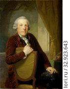 Купить «Portrait of Johannes Lublink II, Philosopher, Writer and Statesman, Portrait of Johannes Lublink II (1736-1816), philosopher, literary and statesman. Knee...», фото № 32923643, снято 27 мая 2020 г. (c) age Fotostock / Фотобанк Лори