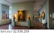 Exposition in the Hungarian National Gallery (2017 год). Редакционное фото, фотограф Яков Филимонов / Фотобанк Лори