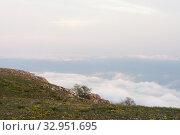 Купить «Spring landscape on a high bank», фото № 32951695, снято 28 апреля 2008 г. (c) Argument / Фотобанк Лори