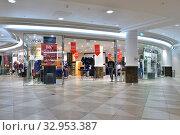 Купить «Doha, Qatar - Nov 18. 2019. Interior of Doha City Center - Shopping Center.», фото № 32953387, снято 18 ноября 2019 г. (c) Володина Ольга / Фотобанк Лори