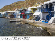 Klima Village, Milos Island, Cyclades Group, Greece. Стоковое фото, фотограф Richard Maschmeyer / age Fotostock / Фотобанк Лори